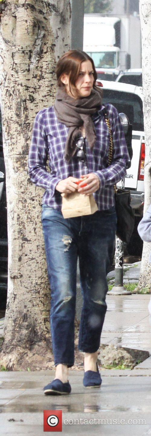 Liv Tyler out shopping in West Hollywood Los...