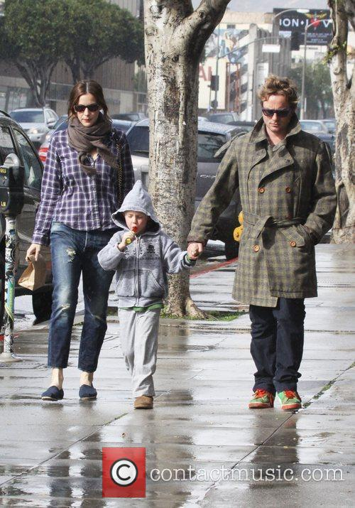 Liv Tyler out shopping with her son Milo...