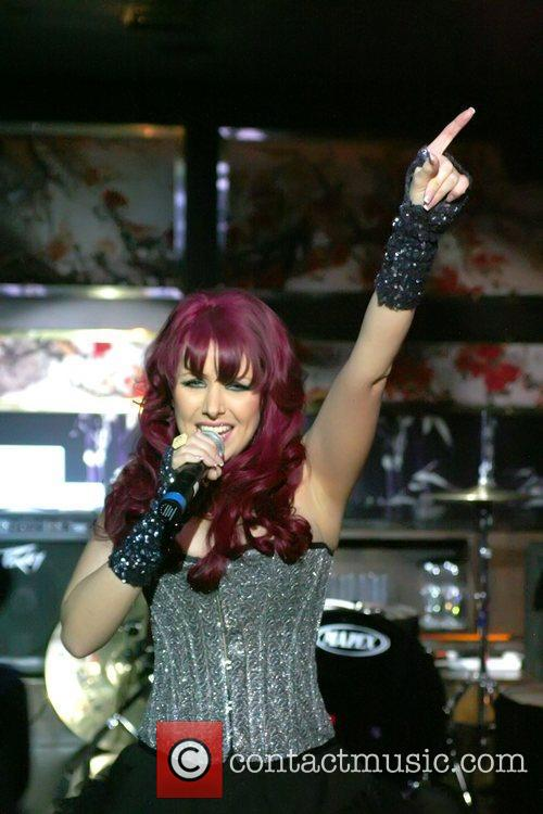 Gem Allen performing on LiVE GEMS at Chinawhite...