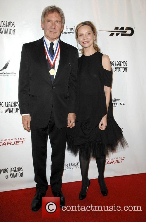 Harrison Ford and Calista Flockhart 3