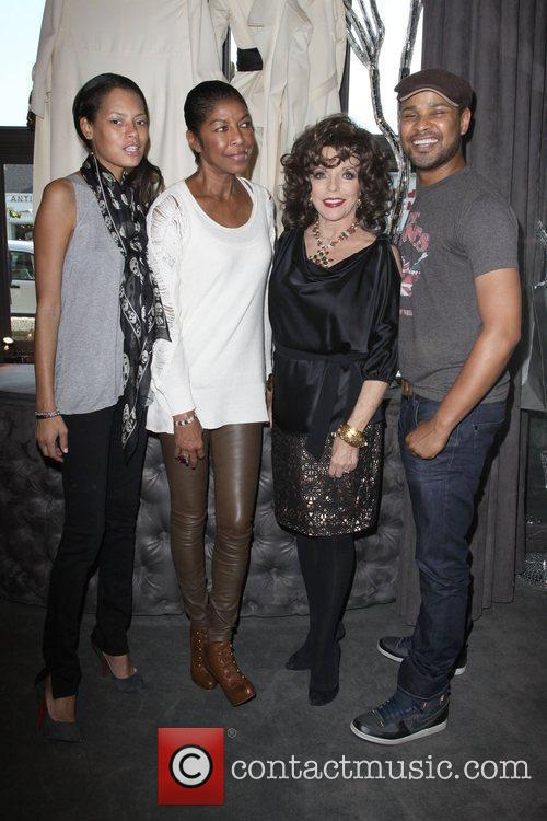 Keisha Whitaker, Joan Collins and Natalie Cole 1