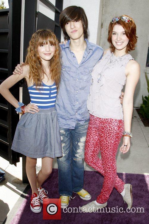 Bella Thorne, Remy Thorne and Dani Thorne Lollipop...