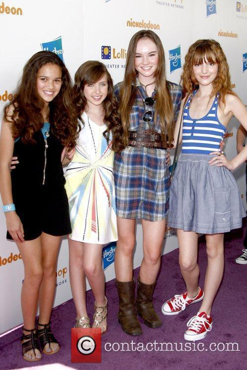 Madison Pettis, Rachel Fox, Madeline Carroll and Bella Thorne 4