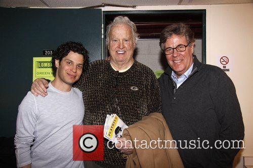 Thomas Kail, Paul Hornung and David Maraniss Paul...