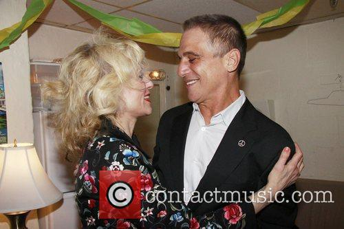 Tony Danza reunites with Judith Light backstage at...