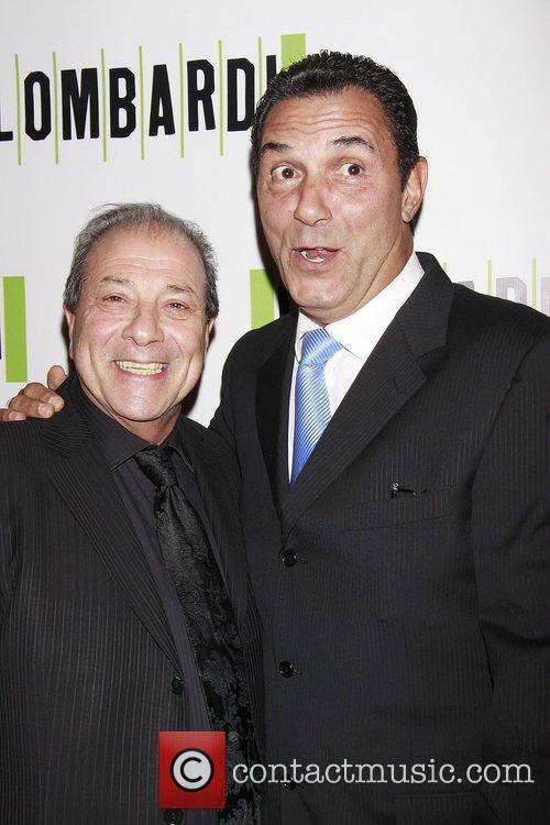 Dan Grimaldi and Lee Mazzilli  Opening night...