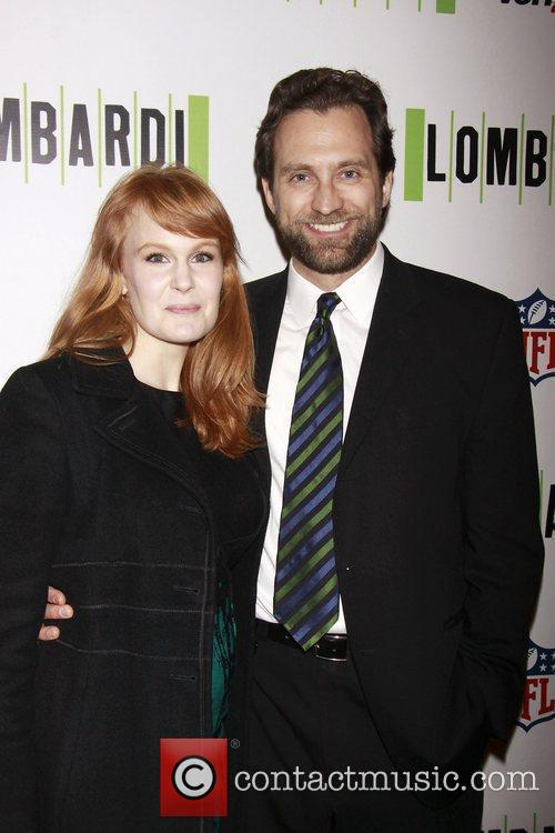 Kate Baldwin and Graham Rowat  Opening night...