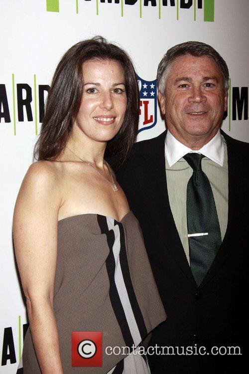 Fran Kirmser and Tony Pontaro Opening night of...