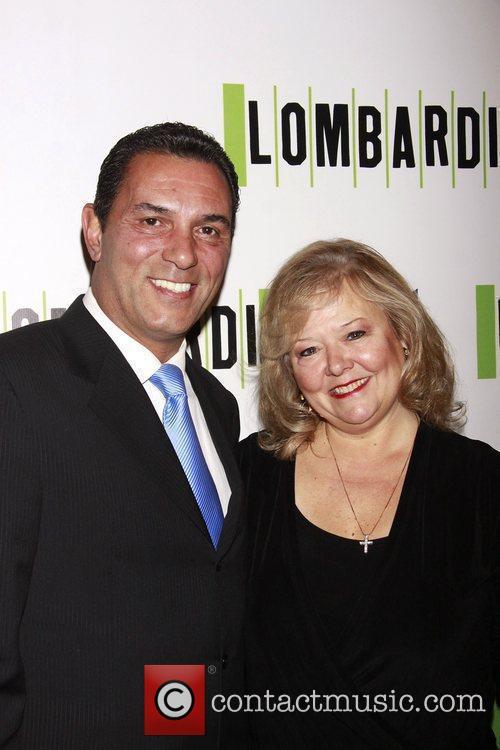 Lee Mazzilli and his wife Dani Mazzilli Opening...