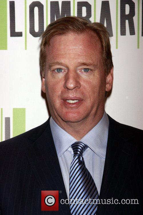 Roger Goodell Opening night of the Broadway production...
