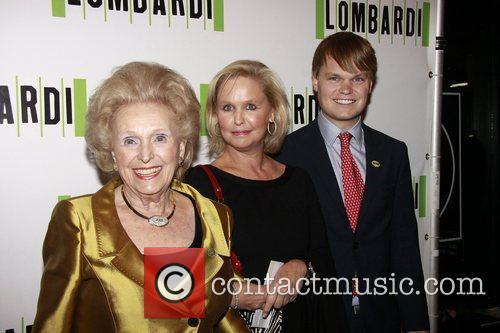 John Mara, Jr. and family Opening night of...