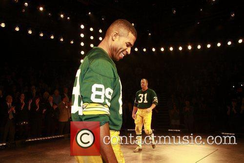 Opening night of the Broadway production of 'Lombardi'...