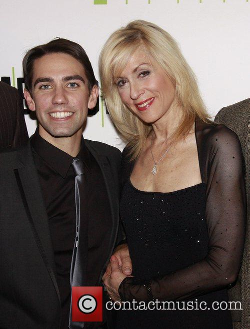 Keith Nobbs and Judith Light Opening night after...