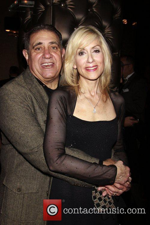Dan Lauria and Judith Light Opening night after...