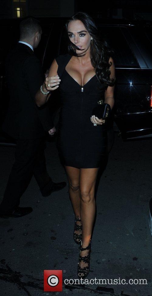 Tamara Ecclestone  celebrities outside C Restaurant in...