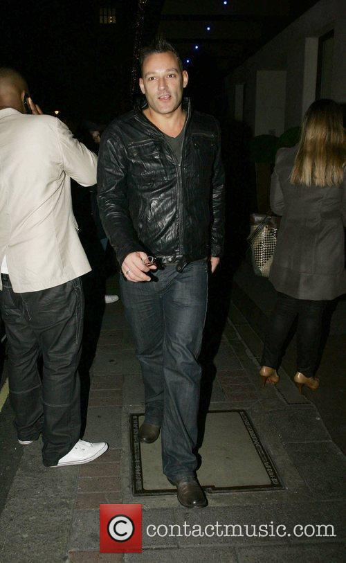 Toby Anstis Celebrities out and about in London...