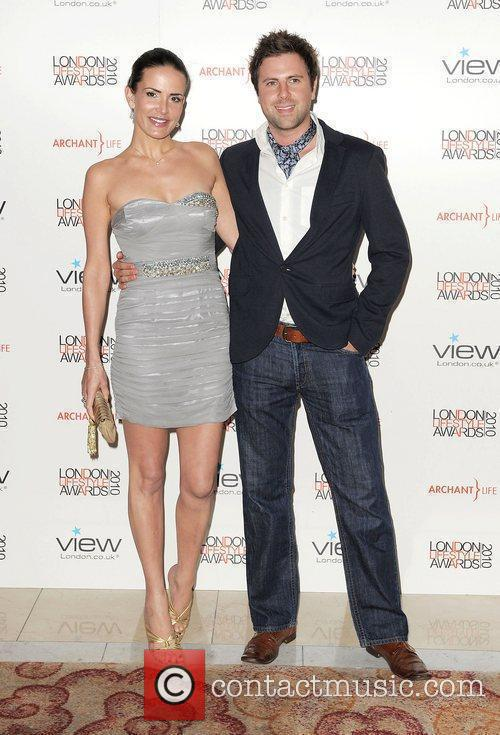 Sophie Anderton and James Simpson ,  London...