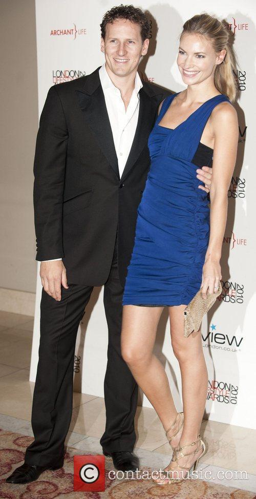 Brendan Cole and wife Zoe Hobbs London Lifestyle...