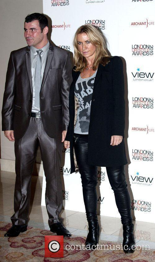 Meg Mathews and Joe Calzaghe London Lifestyle Awards...