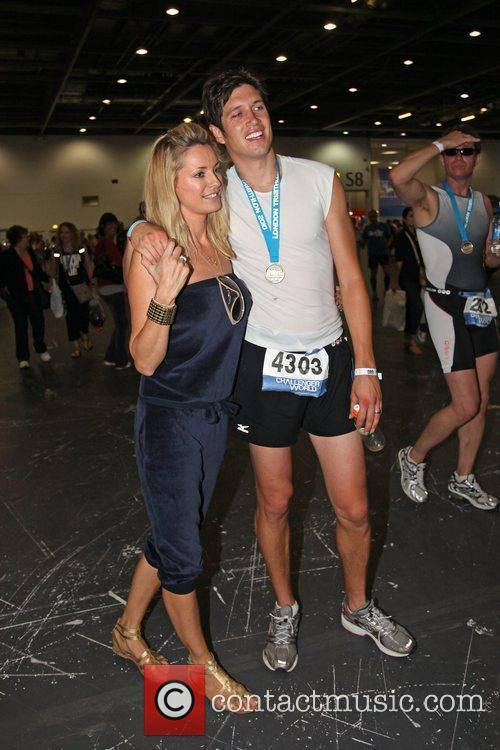 Vernon Kay and Tess Daly 3