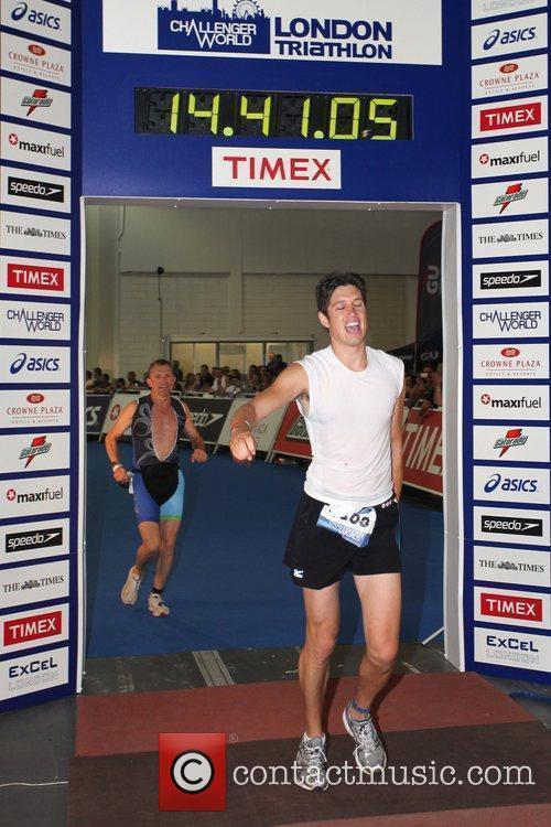 The Challenger World London Triathlon at Excel Centre