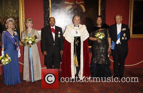 Duchess of Gloucester, Jacob Zuma, The Lord Mayor...
