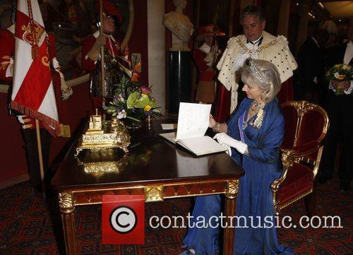Duchess of Gloucester The Lord Mayor Nick Anstee...