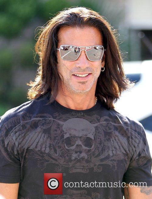 Lorenzo Lamas 'Leave it to Lamas' star walking...