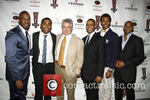 Colman Domingo and the cast of The Scottsboro...