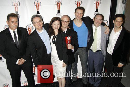 Guests  the 2010 Lucille Lortel Awards for...