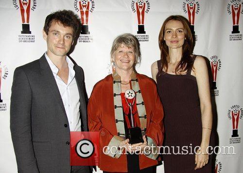 Hugh Dancy, Judith Ivey, and Saffron Burrows...