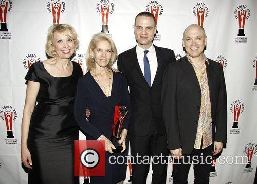 Julie Halston, Daryl Roth, Jordan Roth, and Charles...