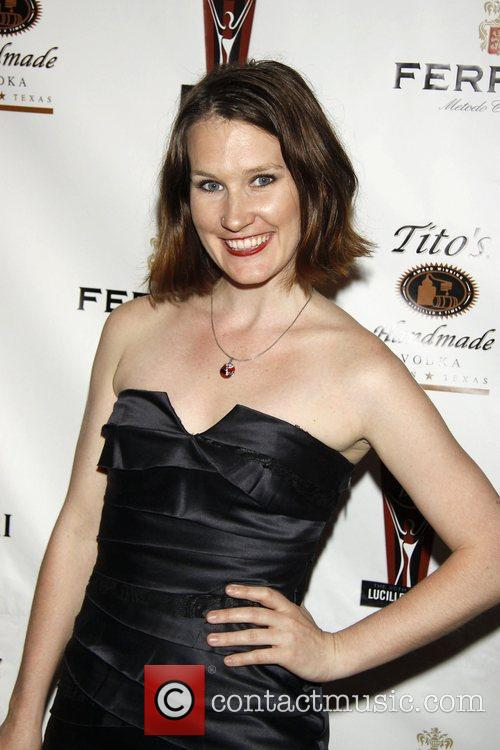 Keira Keeley  the 2010 Lucille Lortel Awards...