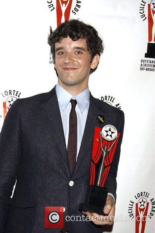 Michael Urie  the 2010 Lucille Lortel Awards...