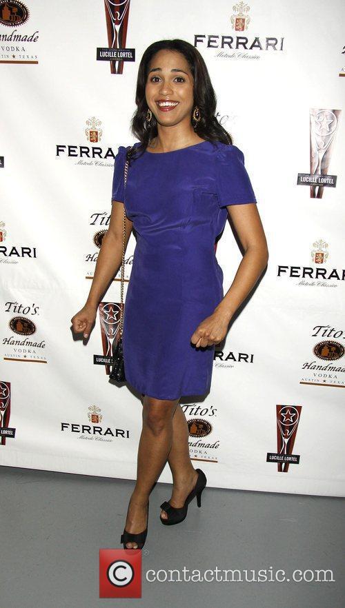Monica Raymund  the 2010 Lucille Lortel Awards...