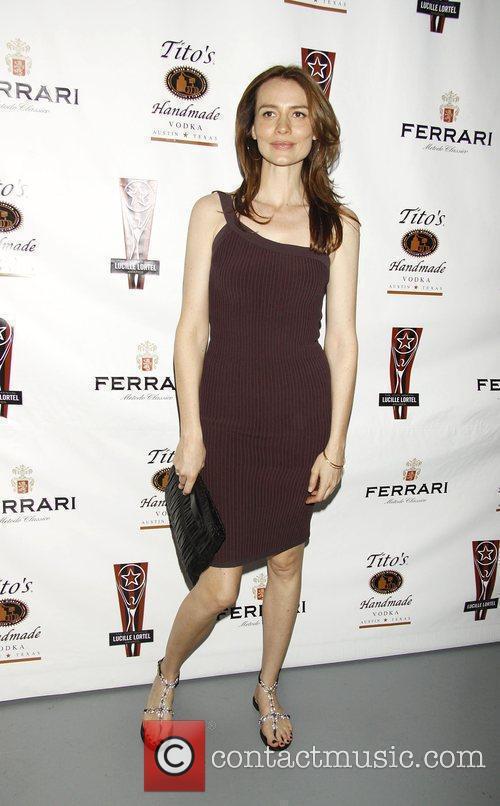 Saffron Burrows  the 2010 Lucille Lortel Awards...