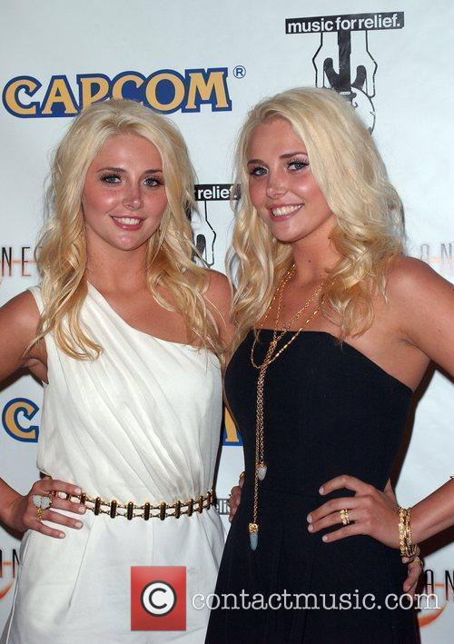 Kristina Shannon; Karissa Shannon Launch Of Capcom's Lost...