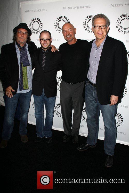 Jack Bender, Damon Lindelof, Terry O' Quinn, Carlton...