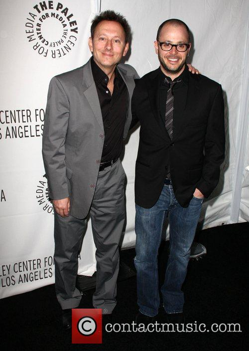 Michael Emerson and Damon Lindelof 2