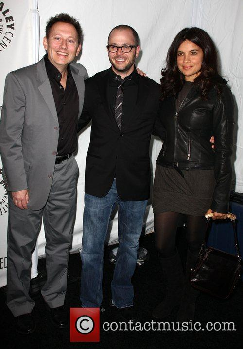 Michael Emerson, Damon Lindelof and Zuleihka Robinson 3