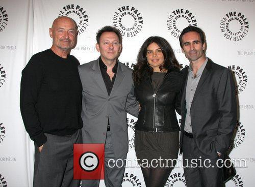 Actors Terry O' Quinn and Michael Emerson, actress...