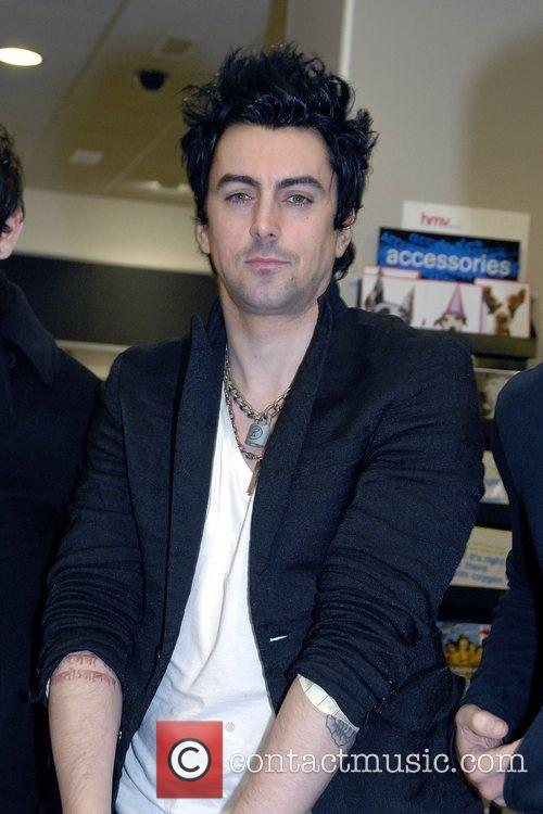 Lostprophets sign copies of their new album 'The...