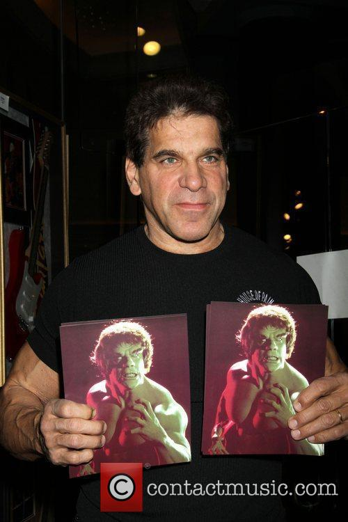 Lou Ferrigno and Incredible Hulk 4