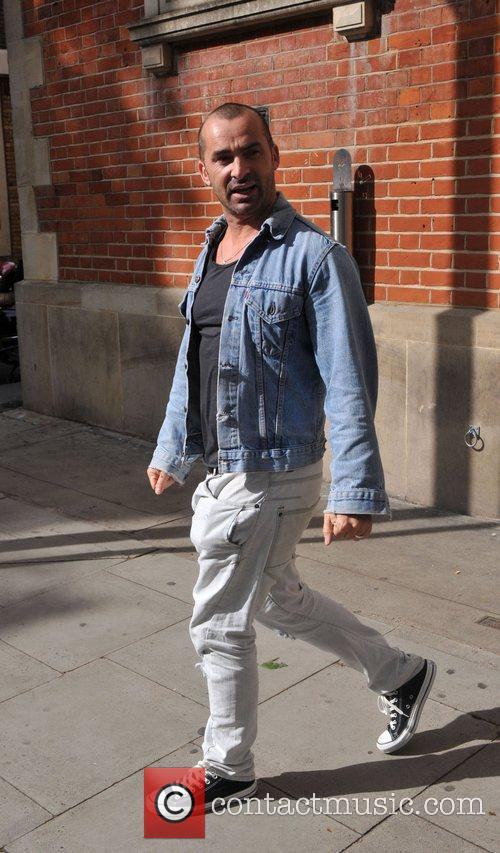 The choreographer out and about in Covent Garden.