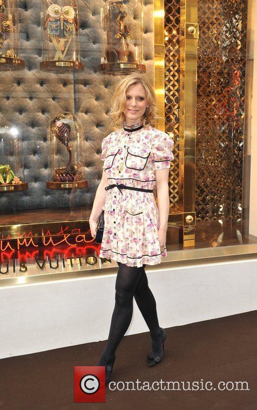 Emilia Fox Louis Vuitton unveils the New Bond...