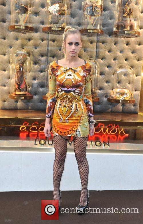 Alice Dellal Louis Vuitton unveils the New Bond...