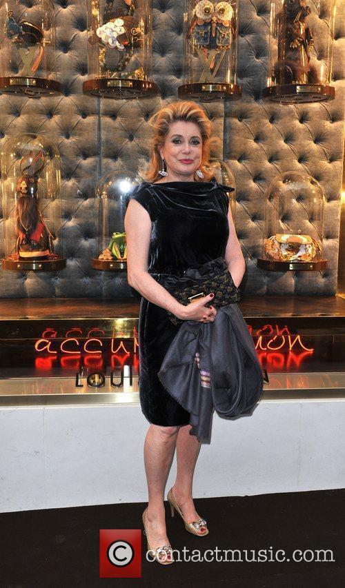 Catherine Deneuve  Louis Vuitton unveils the New...