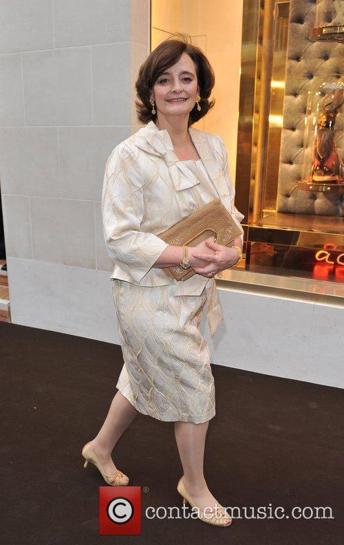 Cherie Blair Louis Vuitton unveils the New Bond...