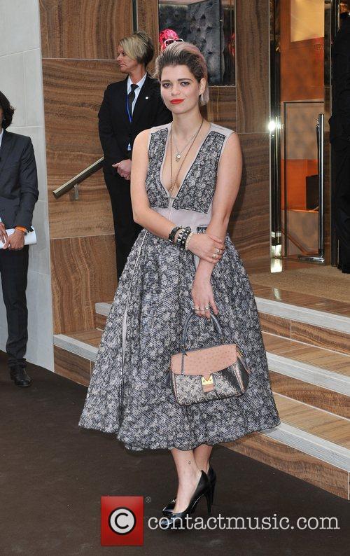 Pixie Geldof Louis Vuitton unveils the New Bond...