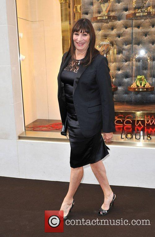 Angelica Huston Louis Vuitton unveils the New Bond...